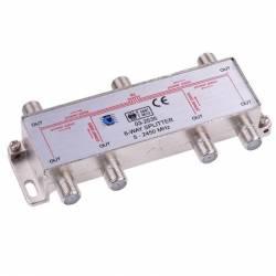 SPLITER 6 CAI TV SAT 5-2400 Mhz