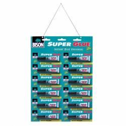 SUPER GLUE BISON 12x3 gr(2 ml)