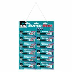 SUPER GLUE GEL BISON 12x2 ml