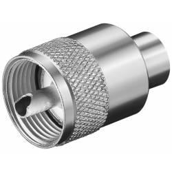 CONECTOR PL 259 UHF-TATA 6 mm RG59