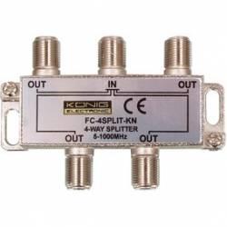 SPLITER 4 CAI 5-1000 Mhz