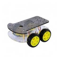 KIT SASIU ROBOT MASINA 4WD 4 ROTI