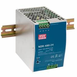 SURSA NDR-480-24 24V/20A MEAN WELL