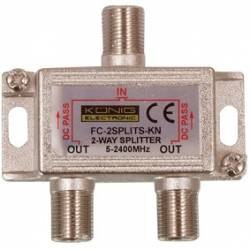 SPLITER 2 CAI 5-2450 MHz