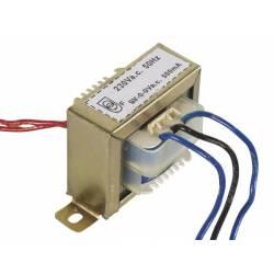 TRANSFORMATOR TOLE 0.5 A 2x 9 V