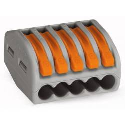 CLEMA WAGO 5 POLI 0.08-2.5 mm CABLU LIT