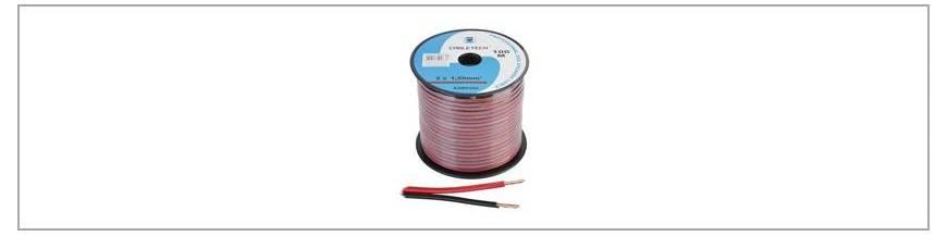 Cabluri pentru difuzoare