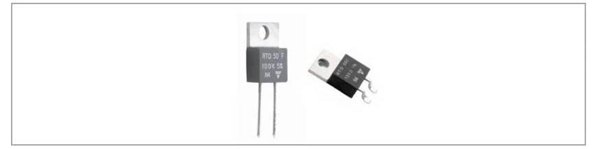 Rezistente semiconductor 50W