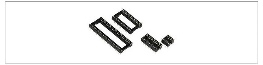 Socluri circuite integrate 2.54 mm