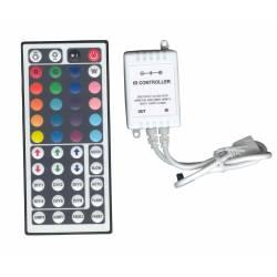 CONTROLER RGB 12V/10A/72W IR 44 BUTOANE