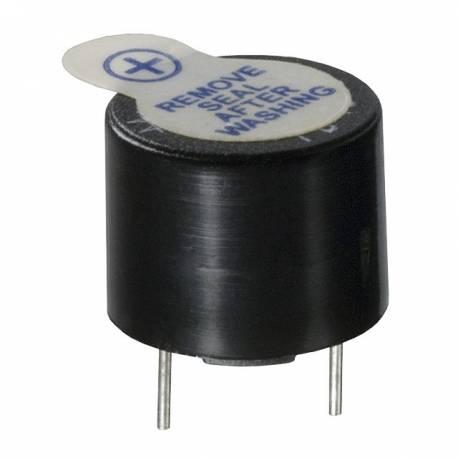 BUZZER 12 mm PCB 5 VDC 50 mA 85 dB