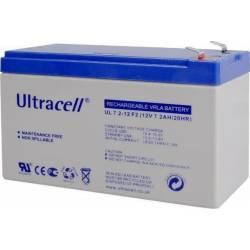 ACUMULATOR Pb ULTRACELL 12V/7.2Ah F1