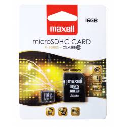 CARD MICRO SD 16GB + ADAPTOR CLASA 10
