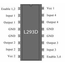 L 293 D DIP16 0.6A