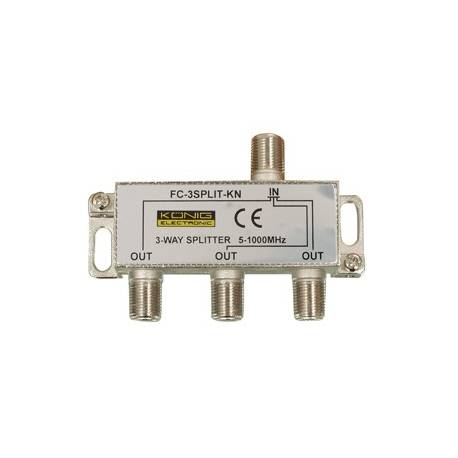 SPLITER 3 CAI 5-1000 Mhz NEXTRACOM