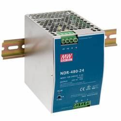 SURSA NDR-480-24 24V/20A MEAN WELL