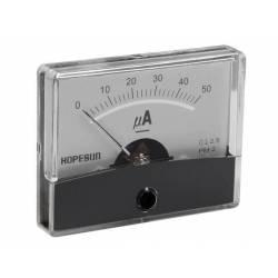 MICROAMPERMETRU PANOU 50uA 60x47mm