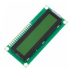 MODUL DISPLAY LCD GALBEN 1602