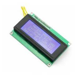 DISPLAY LCD 2004A IIC ALBASTRU 5V