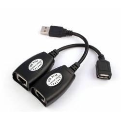 ADAPTOR EXTENSIE USB - RJ45