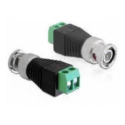 CONECTOR BNC CU TERMINAL BLOC 2 PINI