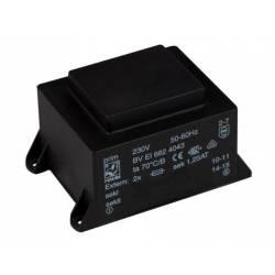 TRANSFORMATOR 30 VA/2x12 V 2x1.25 A
