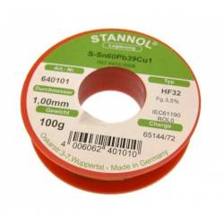 FLUDOR 1 mm (100 g) Sn60Pb39Cu1 STANNOL