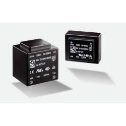 TRANSFORMATOR 1.5 VA/2x15 V 2x50 mA