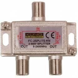SPLITER 2 CAI SAT TV 5-2400 MHz