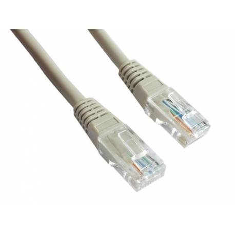 PATCH CABLE UTP CAT6 1m GREY