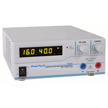 SURSA 0-16V/0-40A CU USB P1565 PEAKTECH