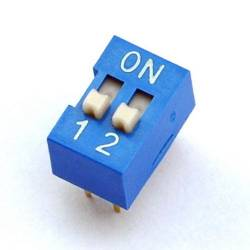 DIP SWITCH 2 CT