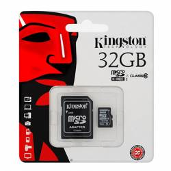 CARD MICRO SD 32GB + ADAPTOR CLASA 10