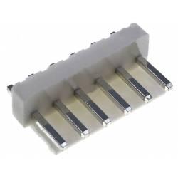 BARETA 6 PINI VERT. 3.96mm