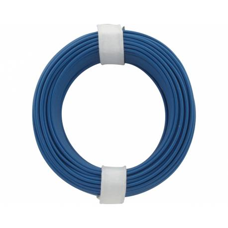 SOLID CORE WIRE 0.5/10M BLUE