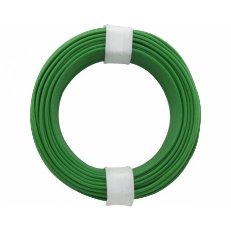 SOLID CORE WIRE 0.5/10M GREEN