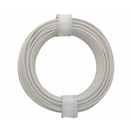 SOLID CORE WIRE 0.5/10M WHITE