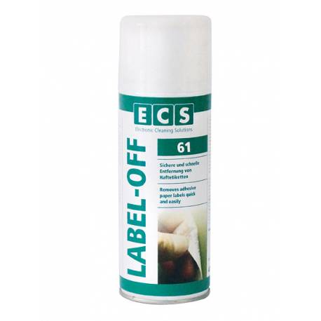 SPRAY LABEL-OFF ECS 400 ml