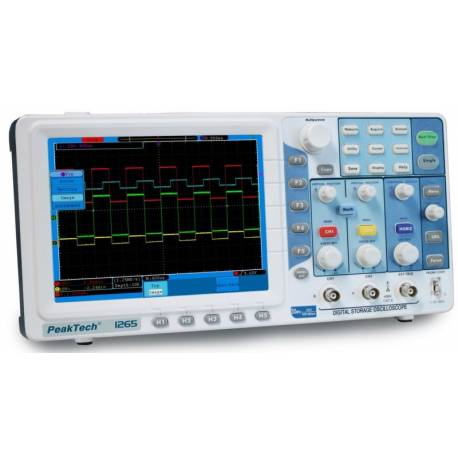 OSCILOSCOP P1265 PEAKTECH 2x30 MHz