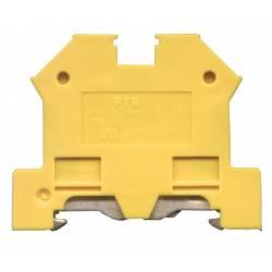 TERMINAL SINA DIN 4mm - VERDE/GALBEN