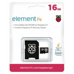 CARD SD NOOBS 16 Gb PT.RASPBERRY PI