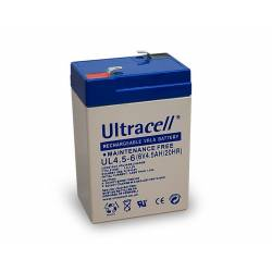 ACUMULATOR Pb ULTRACELL 6V/4.5Ah F1