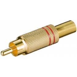 RCA TATA AURIT ROSU CABLU 5.4mm