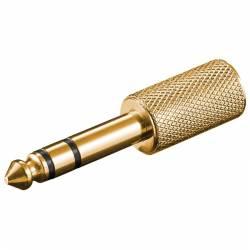 ADAPTOR STEREO 6.5mm TATA-3.5mm MAMA