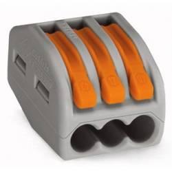 CLEMA WAGO 3 POLI 0.08-2.5 mm CABLU LIT
