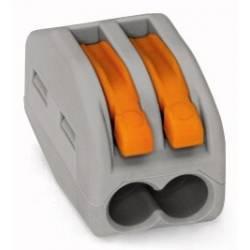 CLEMA WAGO 2 POLI 0.08-2.5 mm CABLU LIT