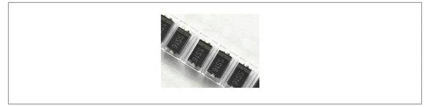 Diode diverse SMD
