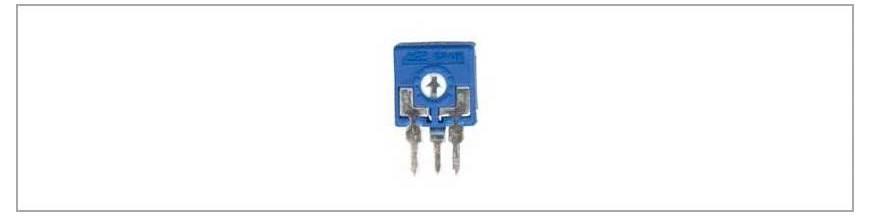 Semireglabili 9.8x9.8 mm CA9 RM5/2.5 mm - verticali