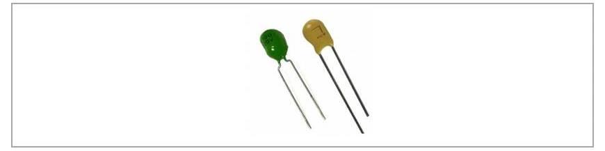 Condensatori tantal