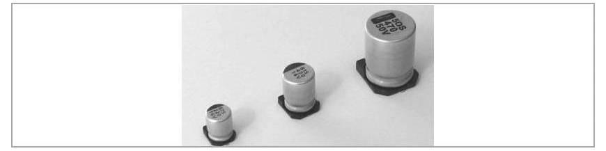 Condensatori electrolitici SMD